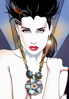 Afbeeldingsresultaat voor patrick nagel - New Ideas Patrick Nagel, Nagel Tattoo, Cyberpunk, Pop Art, Nagel Art, Poster Print, Tribute, Arte Pop, Retro Art
