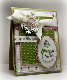 ISSC44 Up to Snow Good by knightrone - Cards and Paper Crafts at Splitcoaststampers