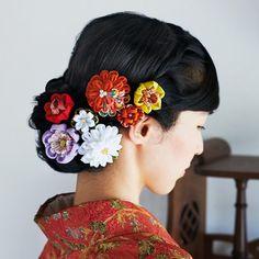 ちりめんで形にする和の趣 四季折々つまみ細工のお花の会(12回限定コレクション)フェリシモ