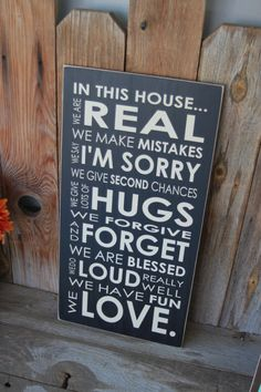 In this house and family subway art Board  with vinyl by invinyl, $24.00