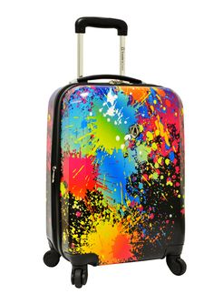 8554edfaea57 Paint Splatter Expandable Spinner  99.99  ideeli Luggage Shop