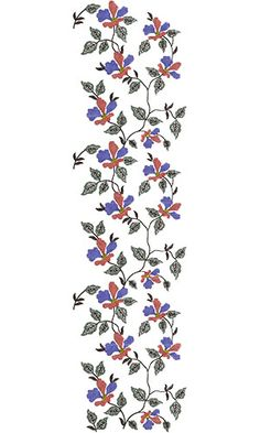 All Over Embroidery Design 12748