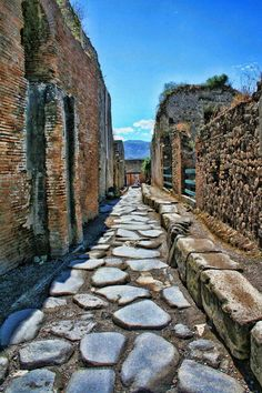 Ancient City of Pompeii, Italy