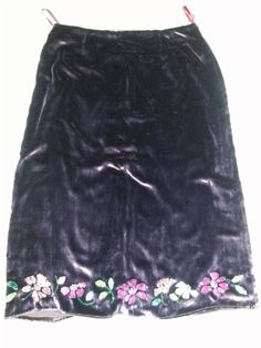 22db463001 Whistles Beaded Velvet Skirt with Silk lining #fashion #clothing #shoes  #accessories #womensclothing #skirts (ebay link)