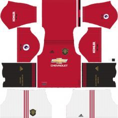 Manchester United Kits Dls 2019 Dream League Soccer Kits In 512x512 In 2020 Manchester United Manchester United Logo Soccer Kits
