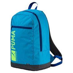 Rebel Sport - PUMA Pioneer Backpack Blue Danube 25 Litres