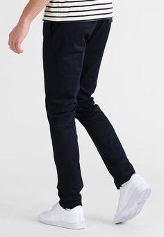 d56db446dcd89 Pier One Trousers - dark blue - Zalando.co.uk Joggers, Street Styles