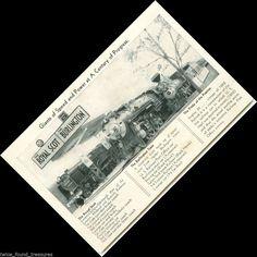 tr033 Century of Progress Chicago Royal Scot Burlington Route Train POSTCARD
