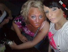 Extreme Makeup Fails - Likes Bad Makeup, Eyebrow Makeup, Makeup Fail, Stay Classy San Diego, Bad Eyebrows, Extreme Makeup, Makeup Humor, People Of Walmart, Beauty Tips