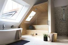 Kätevää tilankäyttöä kylpyhuoneessa #netrautalikes #kylpyhuone #sauna