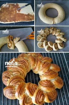 Healthy Low Calorie Meals, Low Calorie Recipes, Healthy Recipes, Cooking Company, Pie Crust Designs, Pastry Design, Bread Shaping, Bread Art, Braided Bread