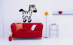 Zebra African Animal Horse Vinyl Decals Wall Art Sticker Home Modern Stylish Interior Decor for Any Room Smooth and Flat Surfaces Housewares Murals Design Graphic Bedroom Living Room (4282) stickergraphics http://www.amazon.com/dp/B00IOQPUSO/ref=cm_sw_r_pi_dp_MwuWtb0BDE6MFDRR
