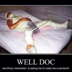 Funny Injury