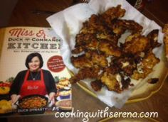 Duck Dynasty - Duck Commanders Miss Kay's recipe book featuring  Willie's Famous Chicken Strips http://cookingwithserena.com/?p=519781