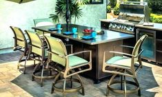 Patio Furniture Fort Collins - You want to purchase furniture for your own patio so that you'll have a pleasant spot to spen Cast Aluminum Patio Furniture, Patio Furniture For Sale, Iron Patio Furniture, Kitchen Furniture, Home Furniture, Outdoor Furniture Sets, Furniture Ideas, Metal Patio Chairs, Outdoor Tables And Chairs