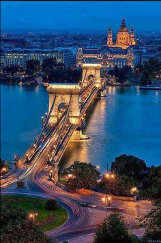 Budapest bridge, Hungary , from Iryna