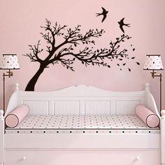 Wall-Decal-Tree-Vinyl-Sticker-Home-Decor-Interior-Bedroom-Bathroom-Hall-Art-LM53