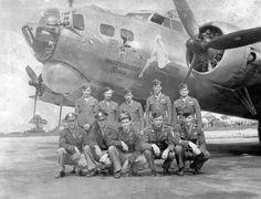 "B-17 Crew Nose Art ""Honeysuckle Rose"""