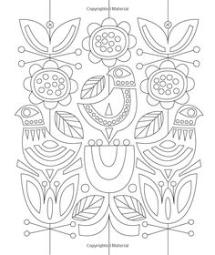 Just Add Color: Mid-Century Modern Animals: 30 Original Illustrations To Color…