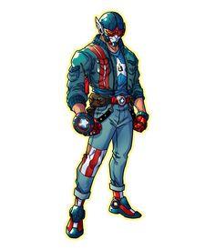Marvel Dc, Marvel Fan Art, Marvel Heroes, Character Concept, Character Art, Character Design, Superhero Characters, Comic Book Characters, Avengers Coloring Pages