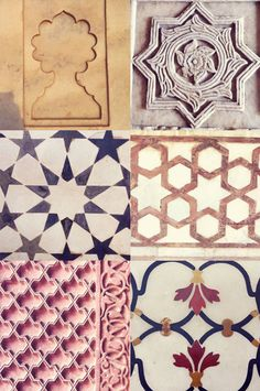 drifted: patterns of india Pretty Patterns, Tile Patterns, Textures Patterns, Beautiful Patterns, Arabesque, Trend Board, Mughal Architecture, Indian Patterns, Indian Art