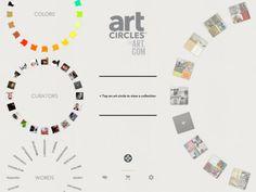 """iPad App """"Art Circles"""""""