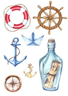 Disney Stitch, Decoupage Paper, Cute Illustration, Beach Themes, Painted Rocks, Scrapbook Paper, Watercolor Paintings, Art Drawings, Doodles