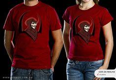R$49.00 Catálogo - Camiseta Vingador - Camisetas Red Bug