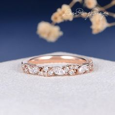Nature Inspired Moissanite Engagement Ring Set White Gold Engagement Rings Branch and Wedding Moissanite Rings - Fine Jewelry Ideas Cushion Cut Engagement Ring, Shop Engagement Rings, Antique Engagement Rings, Rose Gold Engagement Ring, Engagement Ring Settings, Antique Rings, Unique Wedding Bands, Womens Wedding Bands, Wedding Ring