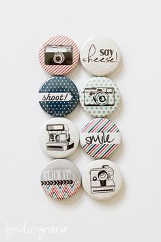 #camera flair #button perfect for all types of paper #crafting projects #card making & #scrapbooking.