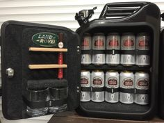 Jerry Can Mini Bar Jack Daniels Grey Goose Vodka Whiskey Camping Glamping Gift