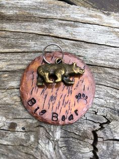 Big Bear Tag by PeartreeTags on Etsy