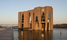 Fjordenhus Is a Modern Castle Complete with Footbridge | Cool Material