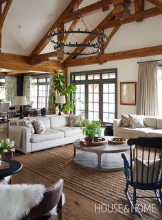 Go inside a gorgeous country home by designer Trish Johnston. Photo: Jason Stickley