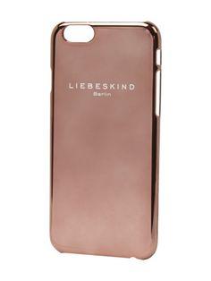 LIEBESKIND BERLIN iPhone Case in Chrom-Optik in Metallic Braun | FASHION ID Online Shop