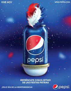 Saludo Independencia Honduras - Pepsi on Behance Ads Creative, Creative Posters, Creative Advertising, Advertising Design, Always Coca Cola, Pepsi Cola, Honduras, Advertising Photography, Brand Packaging