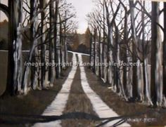 'THE LANE HOME'  reproduction of my original painting canvas prints from $30 www.lanaland.ca