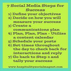 7 Social Media Steps for Success