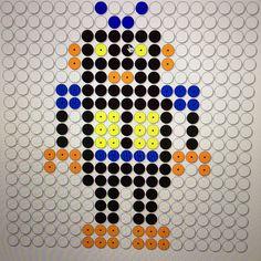 robot: kralenplank of inkleuren  groep 2-3-4