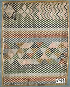 Textile Sample from Sample Book, Japan, 19th century