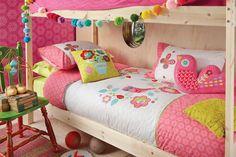 Kas Kids Secret Garden Duvet Cover Set Single - 100% cotton covers - duvet covers - queenb