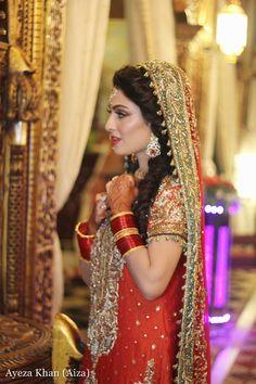 Ayeza Khan (Aiza) & Danish Taimoor Wedding Pictures Baraat Function