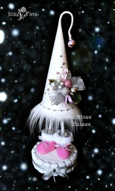 Gallery.ru / Фото #56 - НОВОГОДНИЕ БУКЕТЫ ИЗ КОНФЕТ - jozefina-sweet