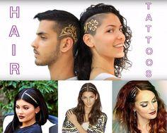 """Cosa succede se un vip lancia una moda e i social network la veicolano? Nascono gli Hair Tattoos, tatuaggi per capelli visti la prima volta su Kylie Jenner, la sorella di Kim Kardashian e che in breve tempo hanno fatto il giro di internet diventando uno dei trend di questa stagione. Si possono applicare come un tatuaggio vero oppure """"disegnando"""" con il colore una specifica zona, ma in ogni caso restano accessori particolari che impreziosiscono il look, magari proprio per una festa di…"""