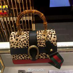 Gucci Dionysus leopard print top handle bag RM13,310