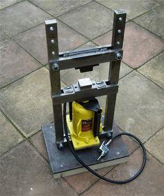 My Latest Project, Mini Hydraulic Press