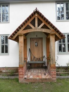 1000 Images About Oak Or Contemporary Porch On