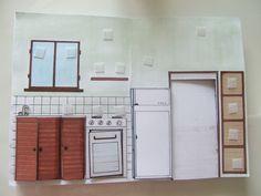 apprendre le vocabulaire de la maison et l'emplacement de chaque objet.