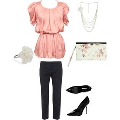Pretty in Pink, created by jamie-preston on Polyvore