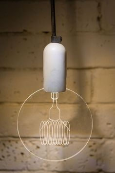 """PRE-ORDER A unique and innovative take-off from the """"carbon bulbs"""". Our bulbs are 100% made in-house from a durable concrete base, an efficient LED bulb and 6 interchangeable laser engraved acrylic glass modules.Items ship out by April 2016.This listing contains:- GLOBE acryl with fittings- concrete base- 7W LED bulb / 220v or 110V / E14 standard housing - 1m cord and fittingsLit by hidden LED's with a life span of 50,000 hours, it will brighten any space while keeping your electri..."""